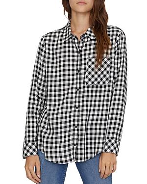 Sanctuary Checkered Boyfriend Shirt-Women