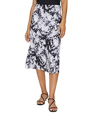 Sanctuary Printed Midi Slip Skirt