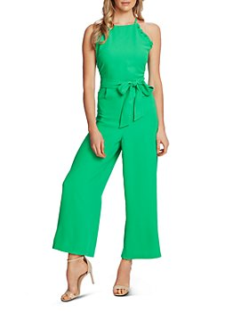 CeCe - Sleeveless Ruffled Jumpsuit
