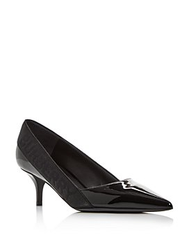 Burberry - Women's Marie Pointed-Toe Kitten-Heel Pumps