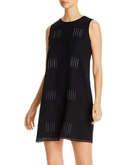 Eileen Fisher - Silk Shibori Sleeveless Printed Dress