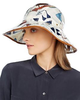 Tory Burch - Women's Printed PVC Bucket Hat