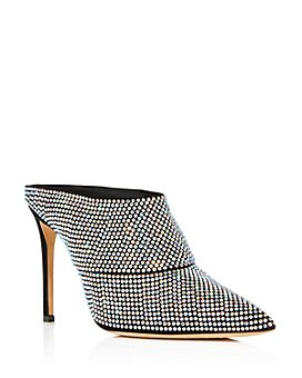 Giuseppe Zanotti - Women's Crystal Pointed High-Heel Pumps