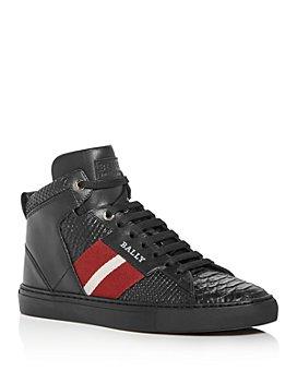 Bally - Men's Hedern Snake-Embossed High-Top Sneakers