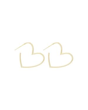 Gorjana Heart Hoop Earrings-Jewelry & Accessories