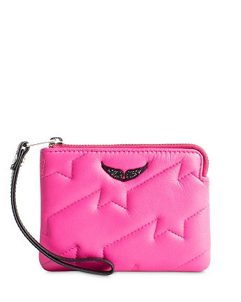 Zadig & Voltaire - Quilted Wallet-On-A-Strap