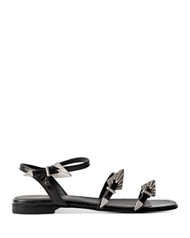 Zadig & Voltaire - Women's Metal Buckle Sandals