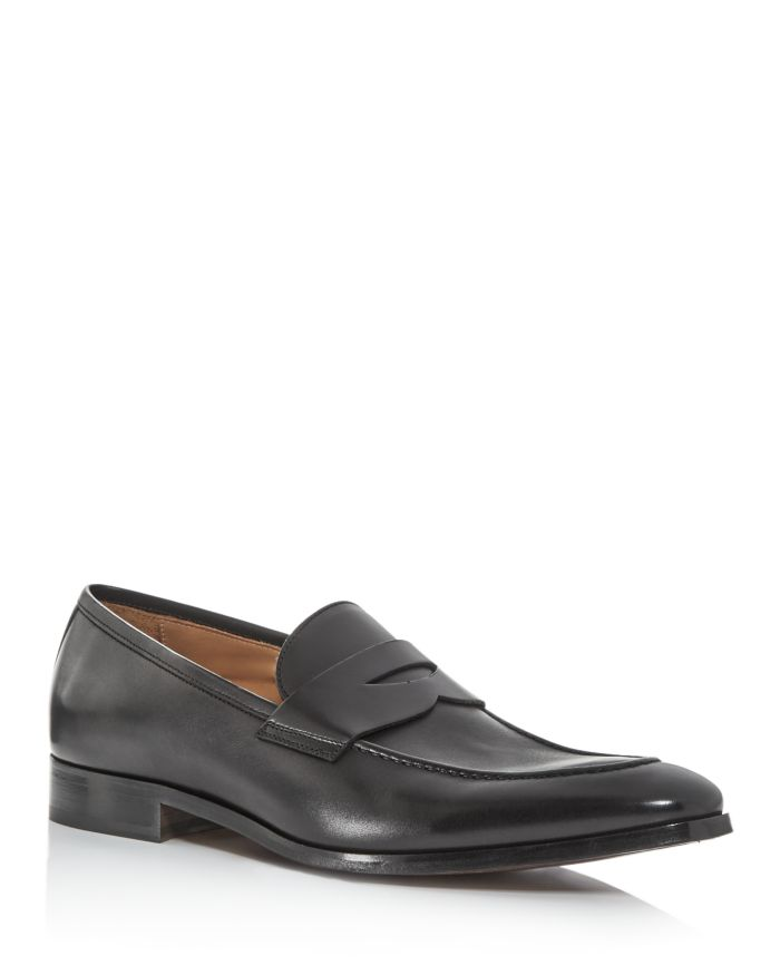 To Boot New York Men's Tesoro Leather Penny Loafers    Bloomingdale's