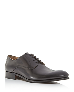 To Boot New York Men\\\'s Declan Leather Plain-Toe Oxfords