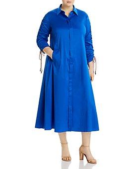 Marina Rinaldi - Dondolo Midi Shirt Dress