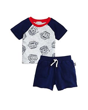 Splendid Boys\\\' Printed Tee & Shorts Set - Baby-Kids