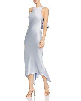 Cushnie - Foldover Open-Back Pencil Dress