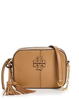 Tory Burch - McGraw Mini Leather Crossbody Camera Bag