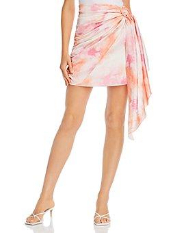 WAYF - Perry Faux Wrap Mini Skirt