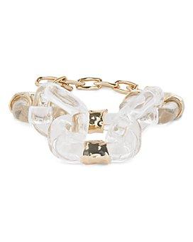 Alexis Bittar - Lucite Crumpled Link Bracelet