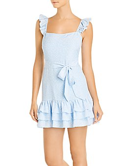 LIKELY - Charlotte Ruffled Mini Dress
