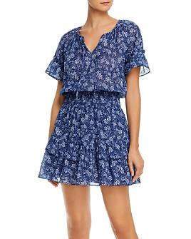 Parker - Queenie Print Cotton Mini Dress