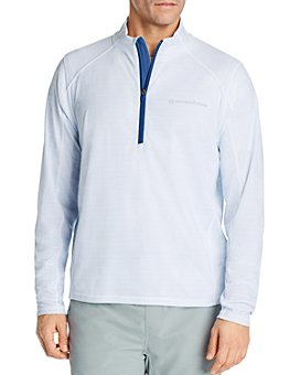 Vineyard Vines - Sankaty Striped Half-Zip Sweater
