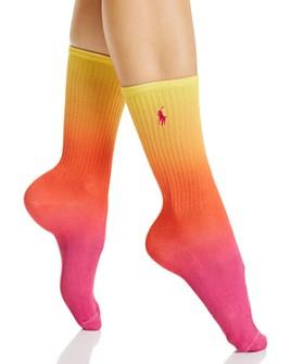 Ralph Lauren - Rainbow Ombré Crew Socks