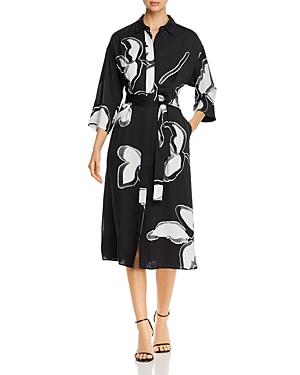 Lafayette 148 New York Rhodes Belted Shirtdress-Women