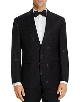 Robert Graham - Sparkle Skull Jacquard Tailored Fit Dinner Jacket