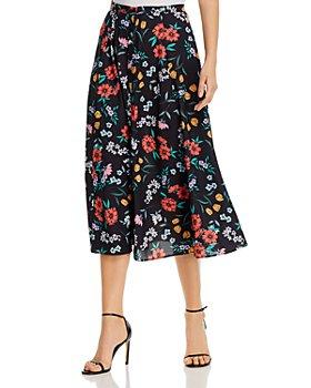 Yumi Kim - Trinity Floral Print Midi Skirt