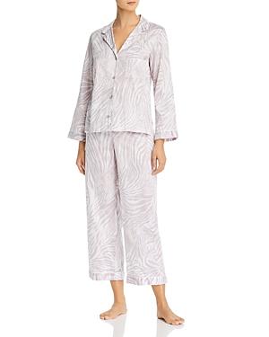 Natori Zebra Print Pajama Set