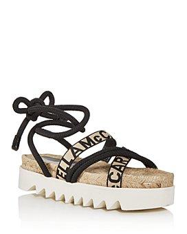 Stella McCartney - Women's Ankle Tie Espadrille Sandals