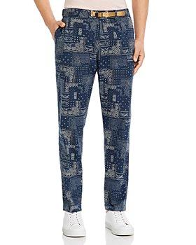 White Sand - Greg Bandana Slim Fit Trousers