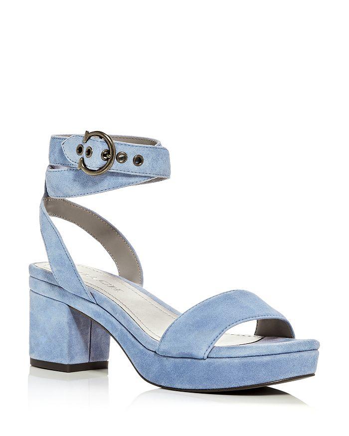 COACH - Women's Serena Strappy Platform Block-Heel Sandals