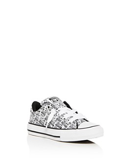 Converse - Boys' License Plate Low-Top Sneaker - Toddler, Little Kid