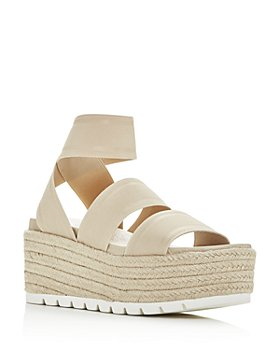 J/Slides - Women's Quartz Wedge Platform Sandals