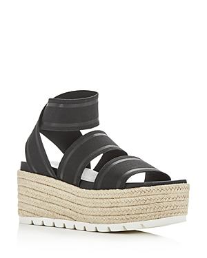 JSlides Women's Quartz Wedge Platform Sandals