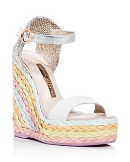 Sophia Webster - Women's Lucita Platform Wedge Espadrille Sandals