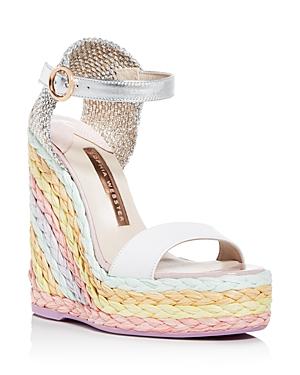 Sophia Webster Women's Lucita Platform Wedge Espadrille Sandals