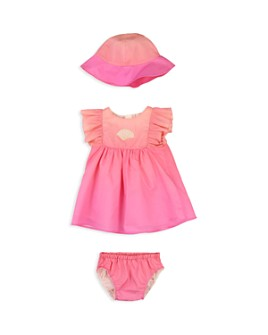 Chloé - Girls' Hat, Dress & Bloomers Set - Baby