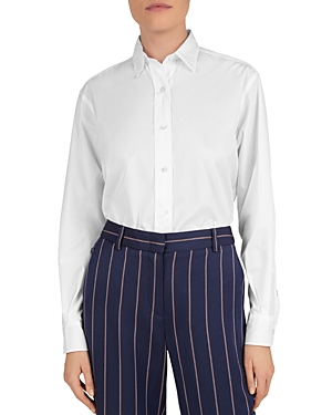 Gerard Darel Button-Up Cotton Shirt