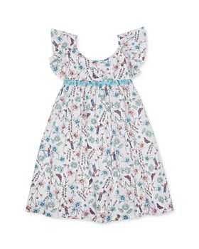 Peek Kids - Girls' Ela Cotton Floral Print Dress - Little Kid, Big Kid