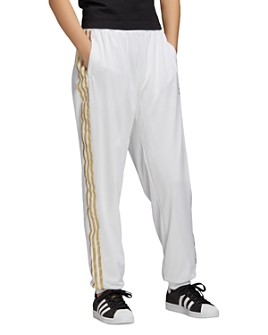 adidas Originals - Metallic-Stripe Track Pants