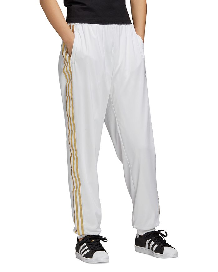 adidas Originals - Metallic-Stripe Track Pants