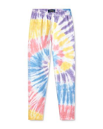 Ralph Lauren - Girls' Tie-Dyed Leggings - Big Kid