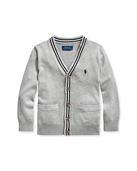 Ralph Lauren - Boys' V-Neck Cardigan, Little Kid - 100% Exclusive