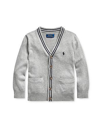 Ralph Lauren - Boys' V-Neck Cardigan, Little Kid - 100% Exclusive