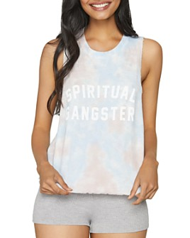 Spiritual Gangster - Open-Back Tank Top