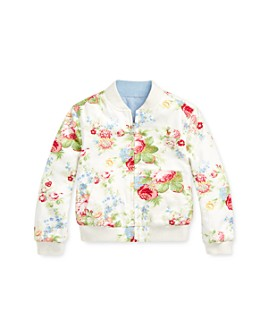 Ralph Lauren - Girls' Reversible Oxford Jacket - Little Kid