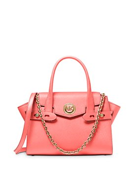 MICHAEL Michael Kors - Carmen Medium Belted Leather Satchel
