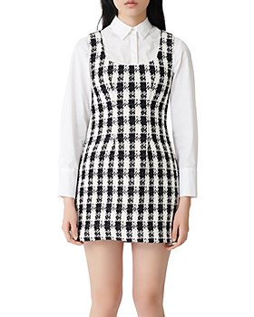 Maje - Rocky Tweed Mini Dress