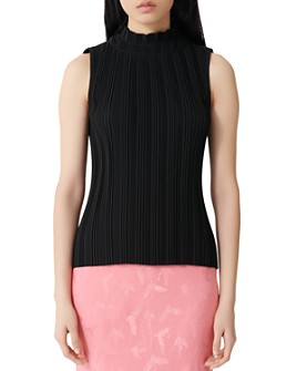 Maje - Lockally Pleated Top