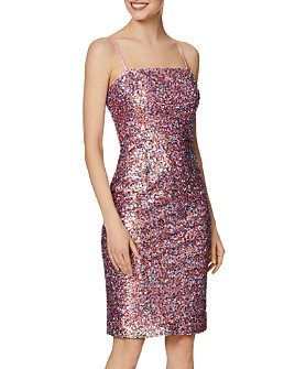 Laundry by Shelli Segal - Sequin Sheath Dress