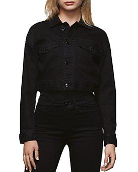 Good American - Cropped Denim Jacket